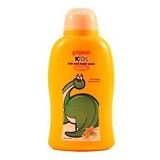 PIGEON Kids Wash Liquid Orange Mango 200ml [PR070102] - Sabun Mandi Bayi dan Anak
